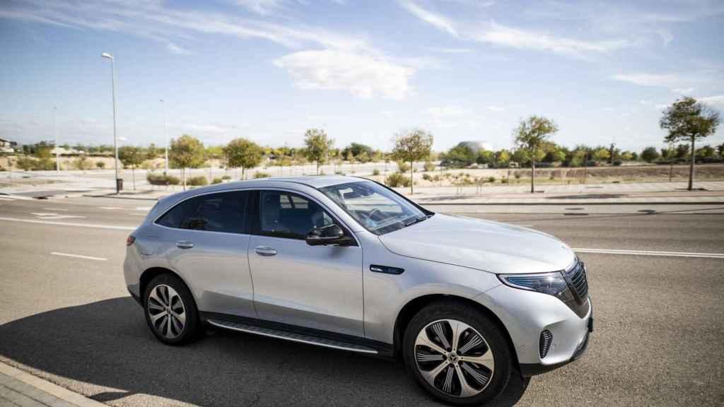 Aspecto del Mercedes EQC