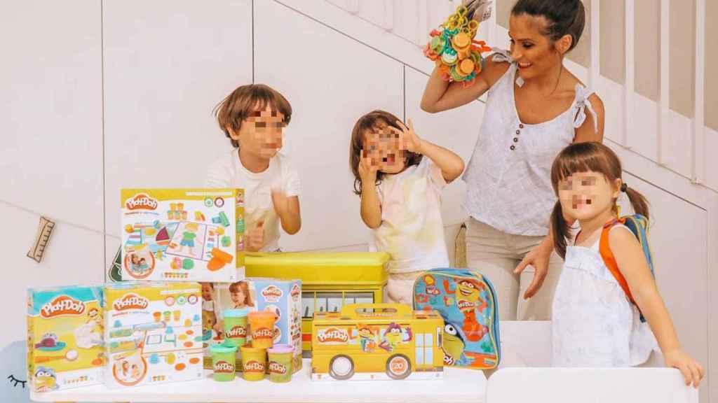 La familia de Verdeliss permanece unida incluso para hacer publicidad de las marcas.