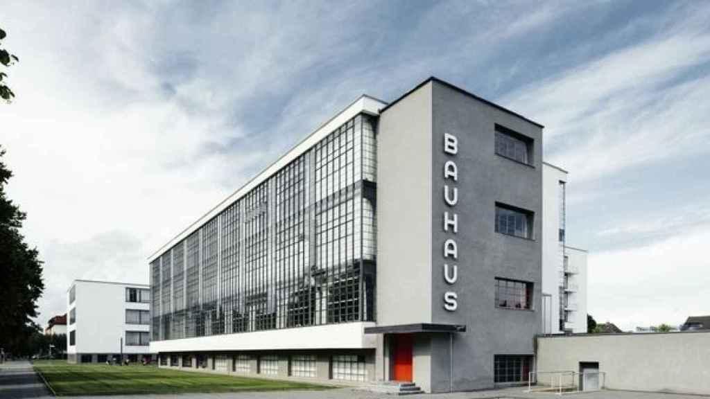 Edificio de la escuela Bauhaus.