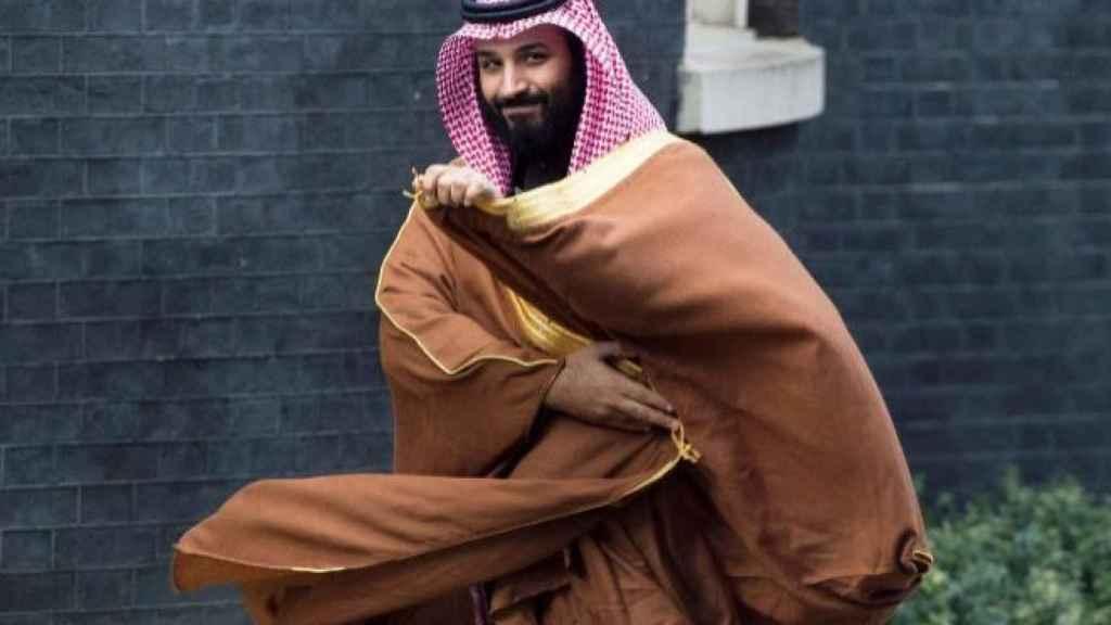 El príncipe heredero de Arabia Saudí Mohamed bint Salman