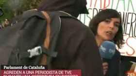 Reportera de RTVE.