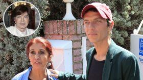 'Camilín' y su madre, Lourdes Ornelas, junto a Camilo Sesto en montaje JALEOS.