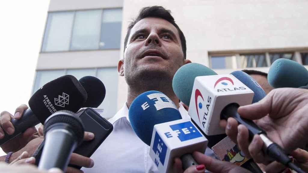 Javier Santos en una imagen de archivo.