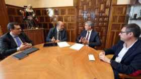 Imagen de la reunión. Foto: Óscar Huertas