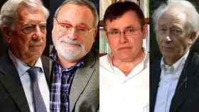 Mario Vargas Llosa, Fernando Savater, Félix Ovejero y Albert Boadella.