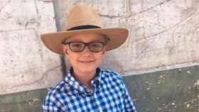 Adrián Hinojosa, el niño aficionado a los toros.