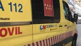 La joven fue trasladada a la unidad de quemados del Hospital La Paz.