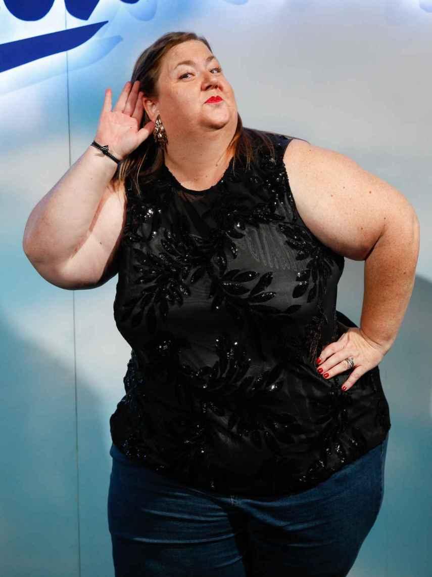 La actriz durante el photocall del estreno de 'La Llamada'.