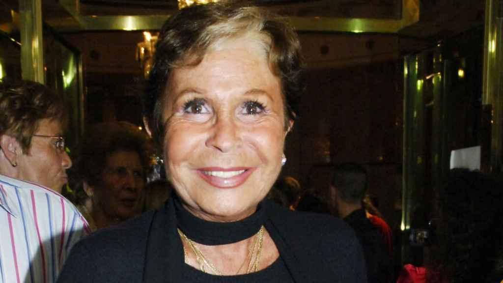 Lina Morgan en una imagen tomada en 2006.