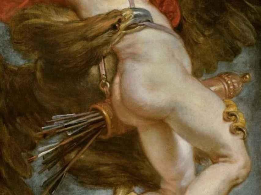 El rapto de Ganímedes, por Rubens.