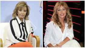 María Teresa Campos y Emma García en un montaje de JALEOS.