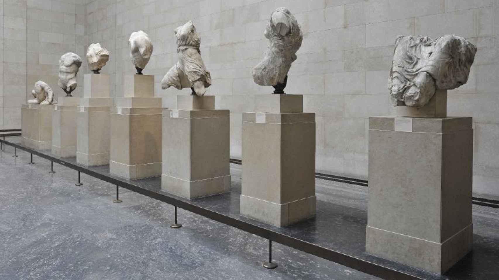 Esculturas del Partenón.