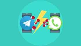 WhatsApp promociona sus adjuntos y Telegram le hace un «zasca»