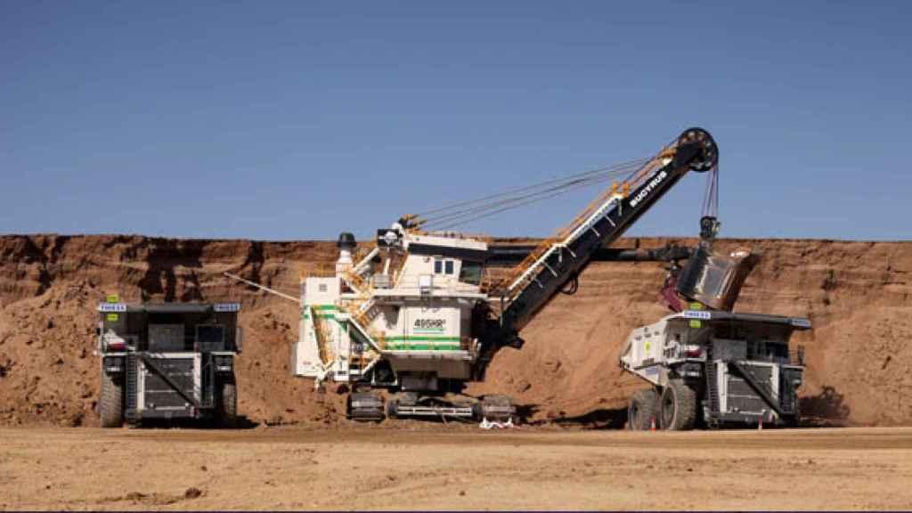 Tareas de minería desarrolladas por Thiess en Curragh.