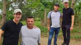Guaidó con los criminales colombianos que dice no conocer
