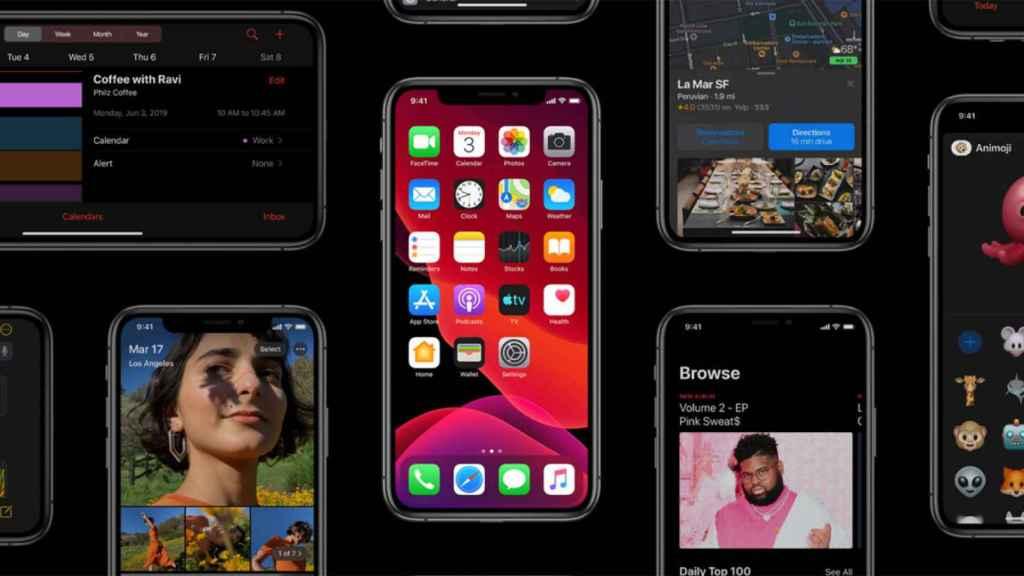 iOS 13 recibirá una actualización para soportar el rastreo de COVID-19