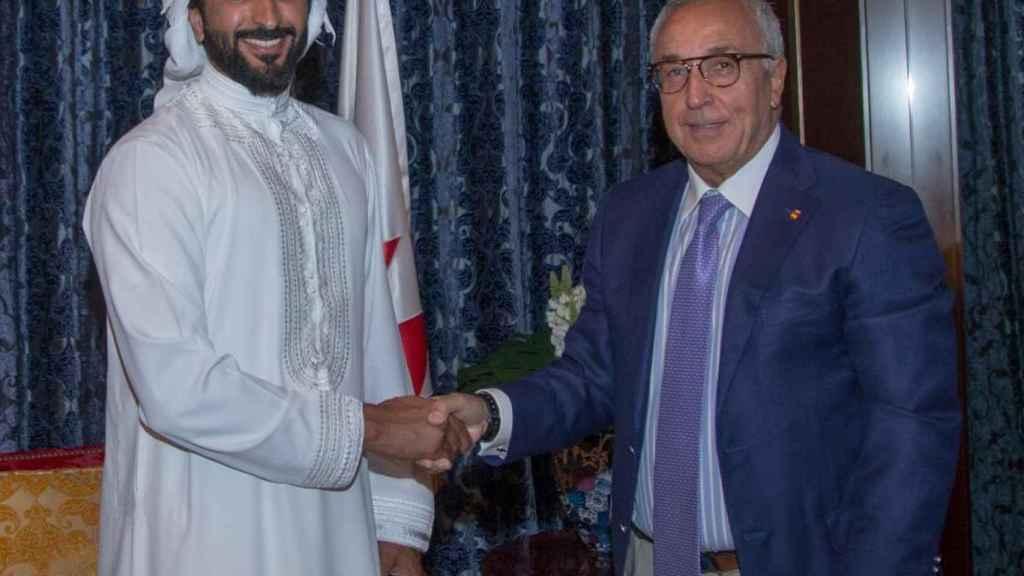 El COE firma un acuerdo de colaboración con el Comité Olímpico de Bahrein. Foto: Twitter (COE_es)