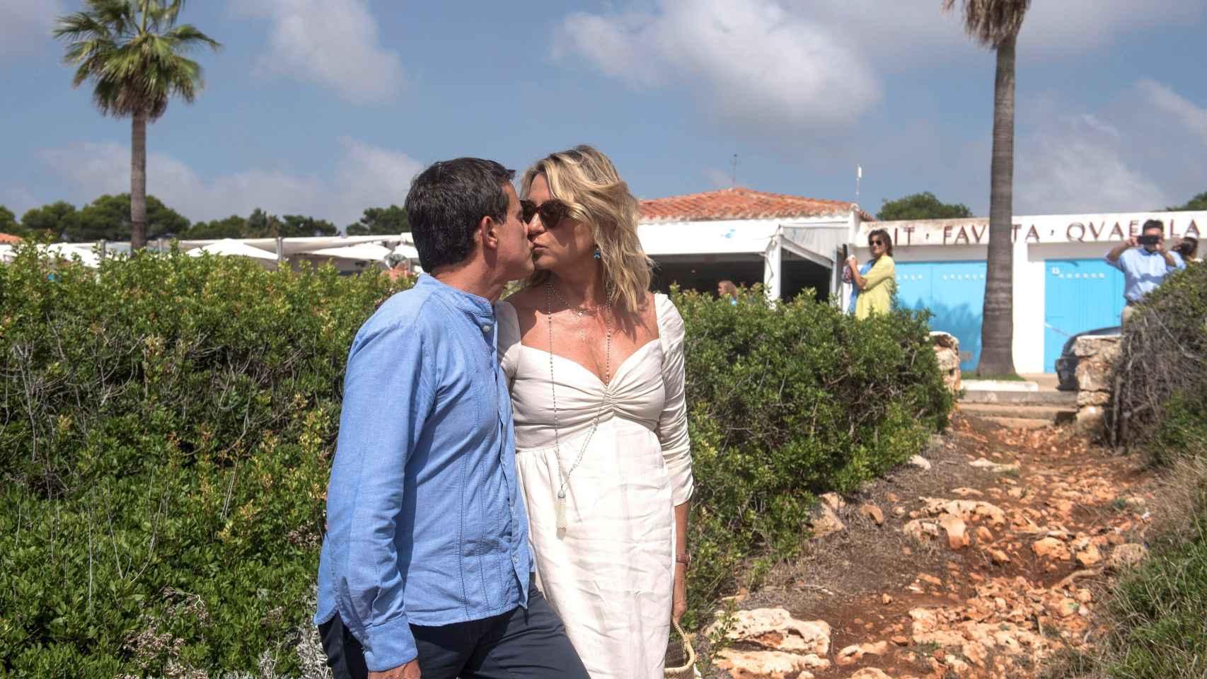 Manuel Valls y Susana Gallardo han celebrado su gran boda durante tres días en Menorca.