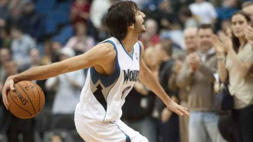 Ricky Rubio debuta en la NBA