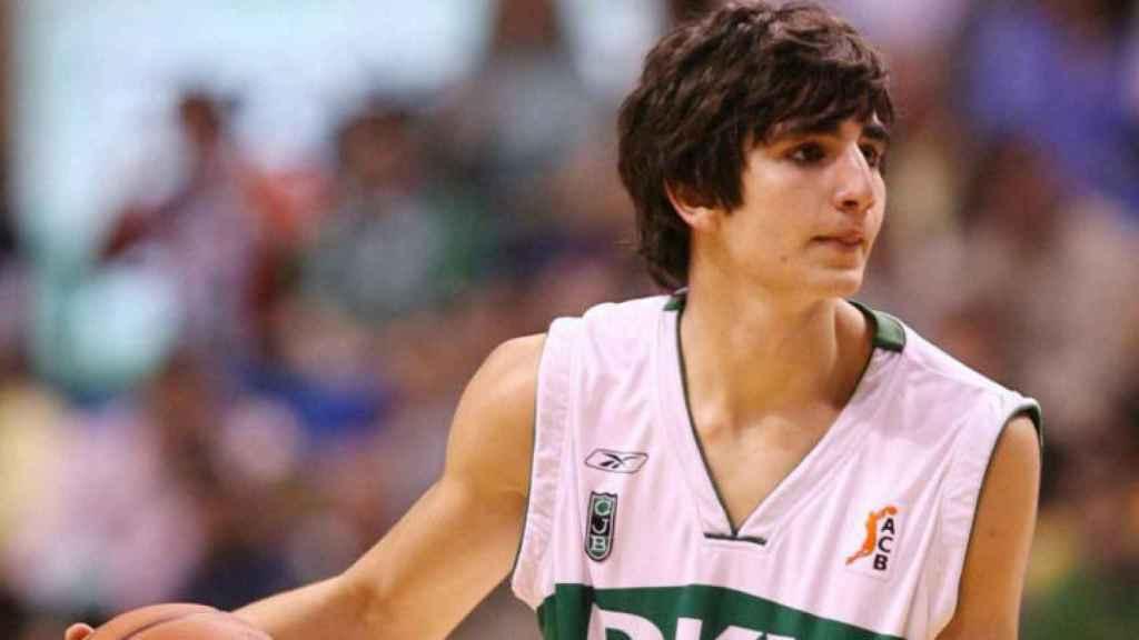Debut en ACB de Ricky Rubio con el Joventut
