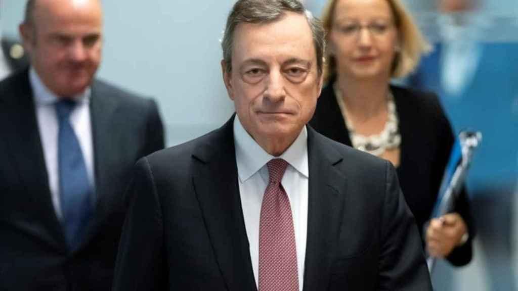 Mario Draghi, primer ministro de Italia y expresidente del BCE.