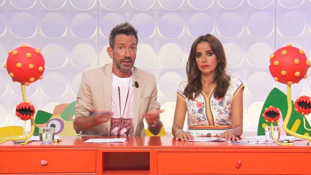 David Valldeperas y Carmen Alcayde en 'Aquí hay madroño'