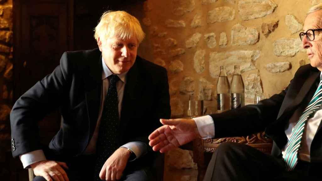 Juncker y Johnson se han reunido este lunes en Luxemburgo