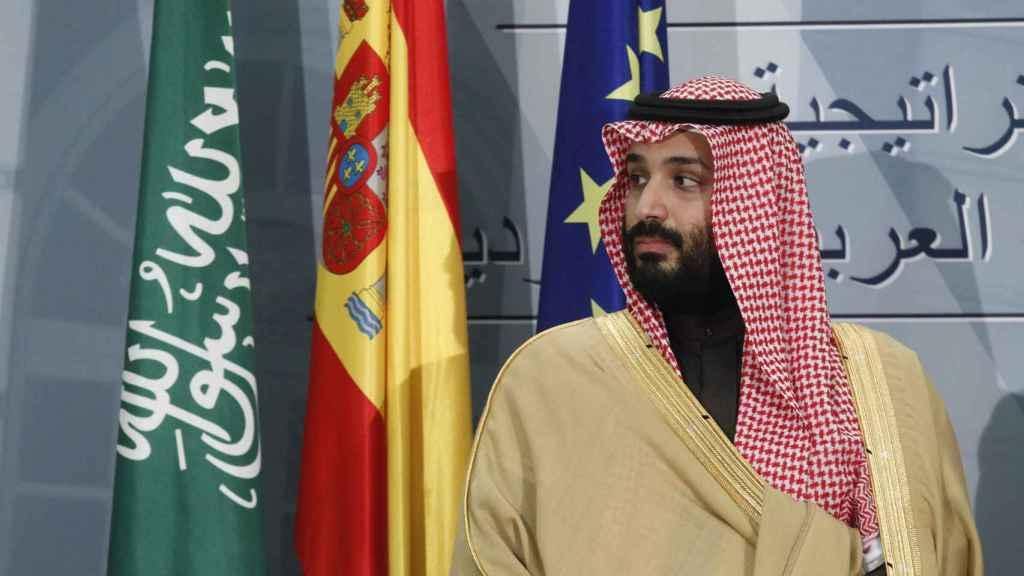 Mohamed bin Salman, hermano de Hassa y heredero al trono de Arabia Saudí.