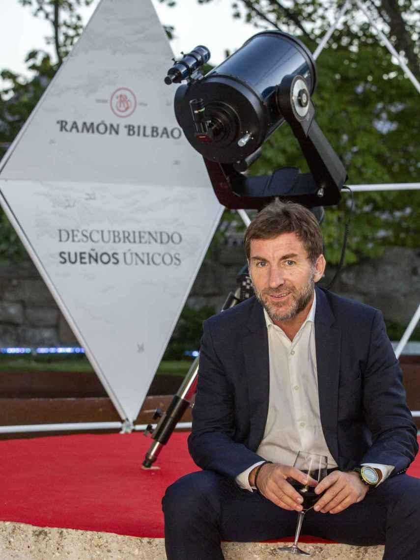 El actor Antonio de la Torre, durante la presentación de 'Descubriendo sueños únicos'.