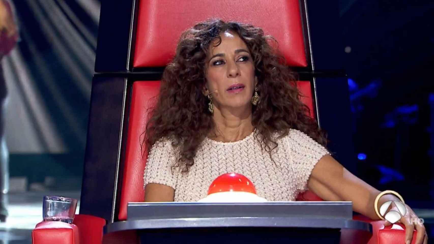 Rosario Flores durante un momento del programa 'La Voz Kids'.