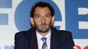 Jorge Garbajosa, presidente de la FEB