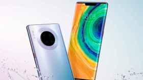 Huawei Mate 30, Mate 30 Pro y Mate 30 Lite filtrados en imágenes de prensa
