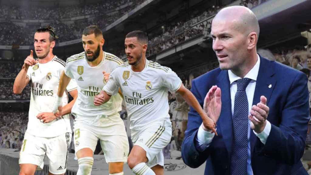 Bale, Benzema y Hazard: un tridente para creer en el Real Madrid