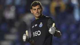 Iker Casillas con el FC Oporto.