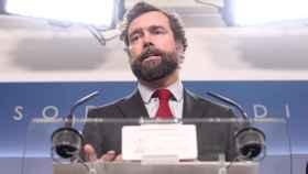 El portavoz de Vox en el Congreso, Iván Espinosa de los Monteros, en una imagen de archivo.