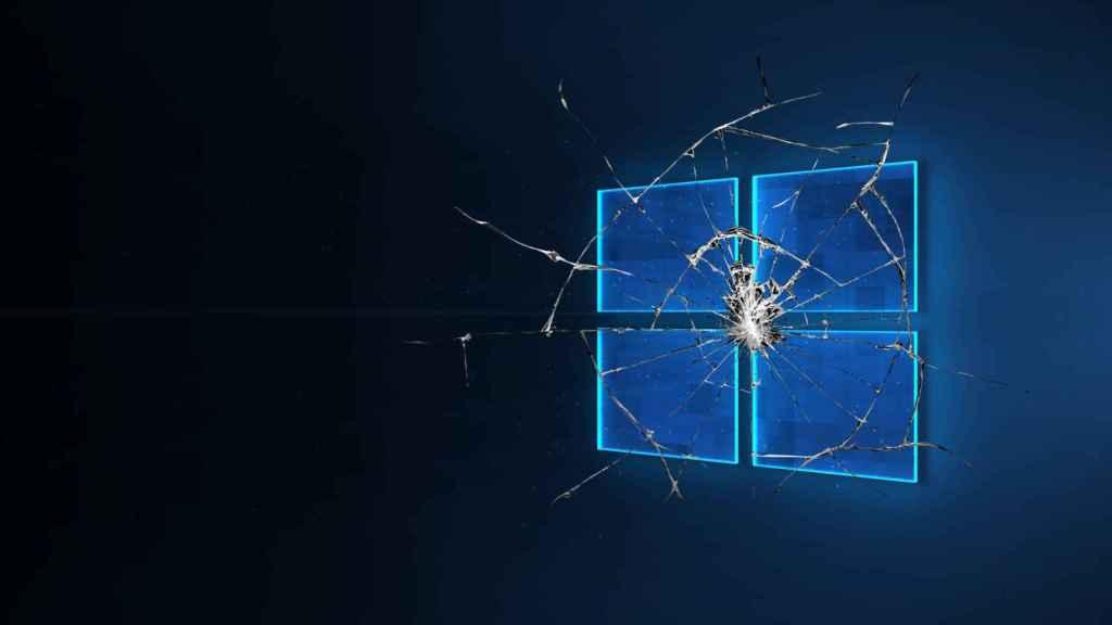 Windows 10 roto.