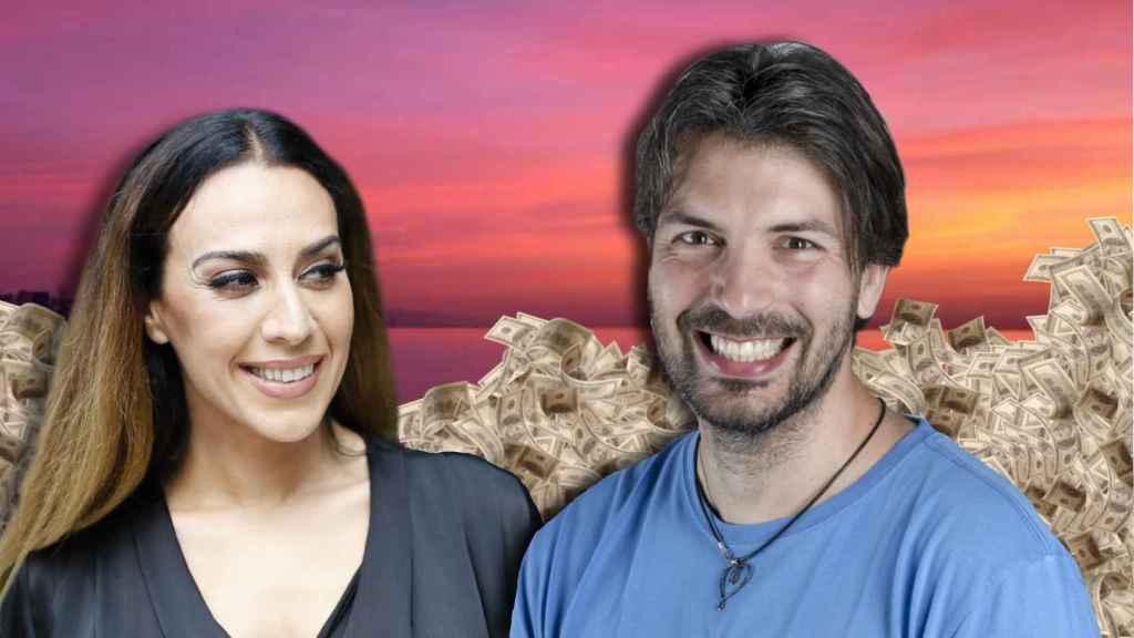 Mónica Naranjo en un montaje de JALEOS junto a Lain García Calvo.