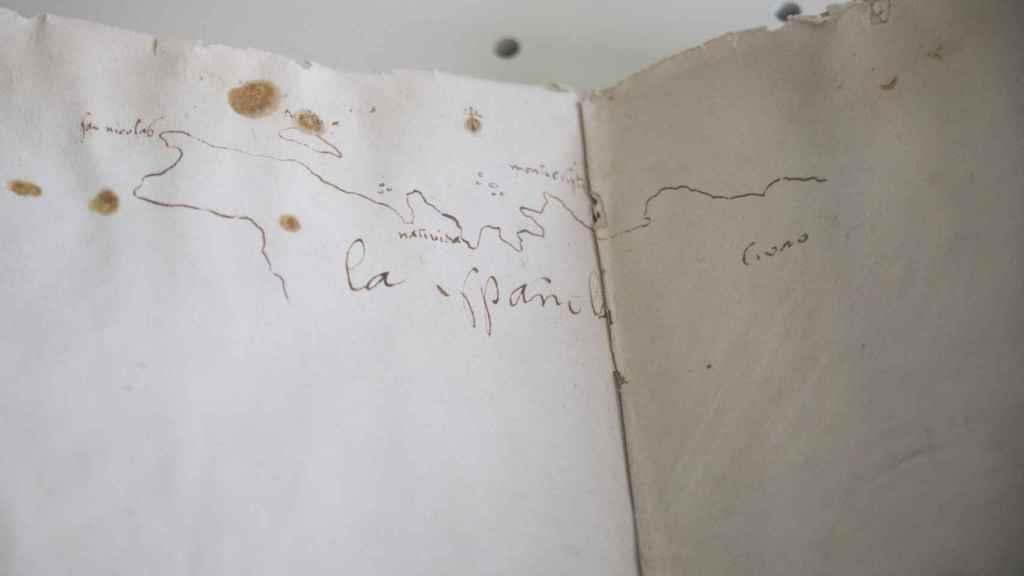Cuaderno de a bordo del viaje de descubrimiento del Nuevo Mundo.