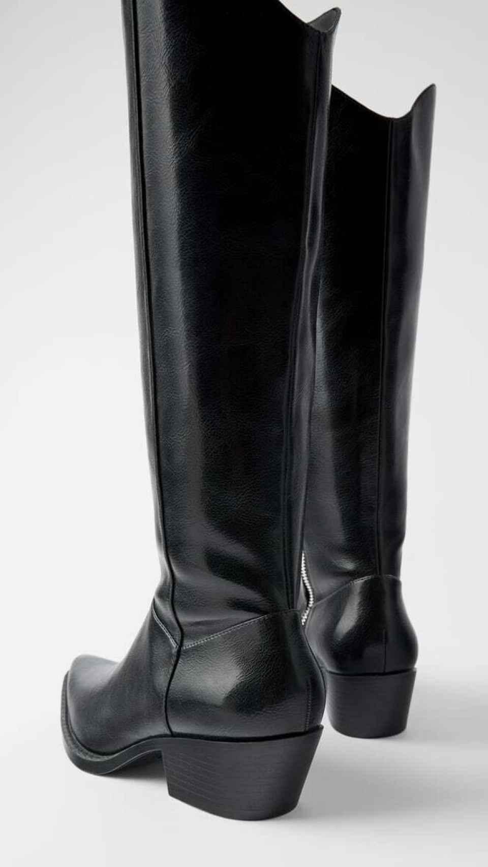 Las botas que ya se han agotado en Zara.