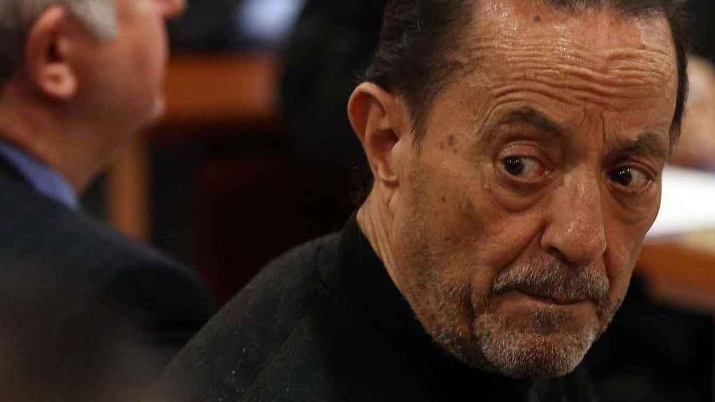 Julián Muñoz en un juicio.