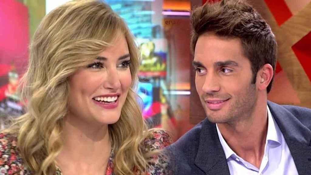 Alba Carrillo y Santi Burgoa en montaje JALEOS.