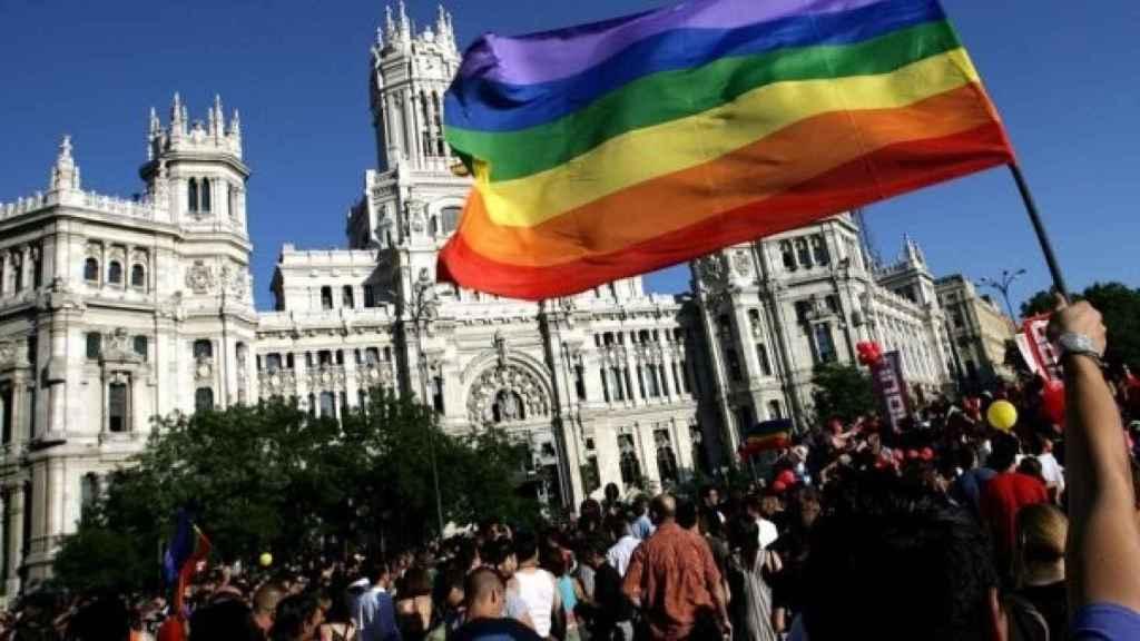 Imagen de la pasada manifestación del Orgullo LGTBI de Madrid.