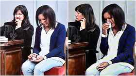 Ana Julia rompe a llorar en la séptima sesión de la vista oral contra ella