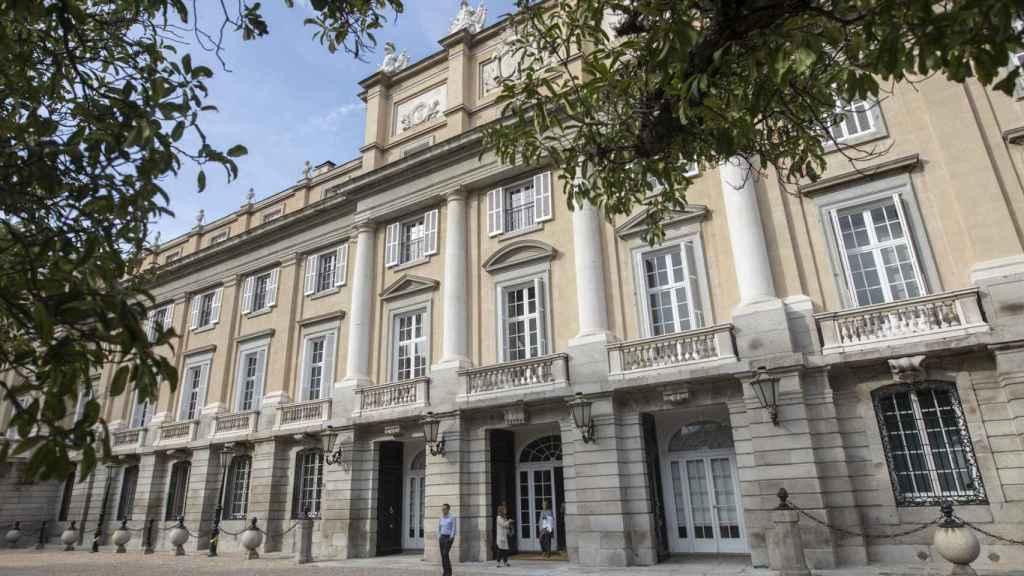 Fachada del Palacio de Liria.