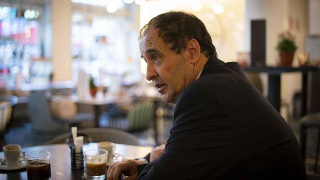 José María Múgica durante la entrevista con EL ESPAÑOL.