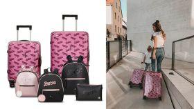 Barbie se ha aliado a Samsonite para traer el equipaje perfecto.