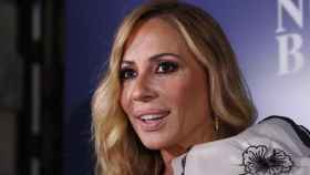 Marta Sánchez en su última aparición pública.