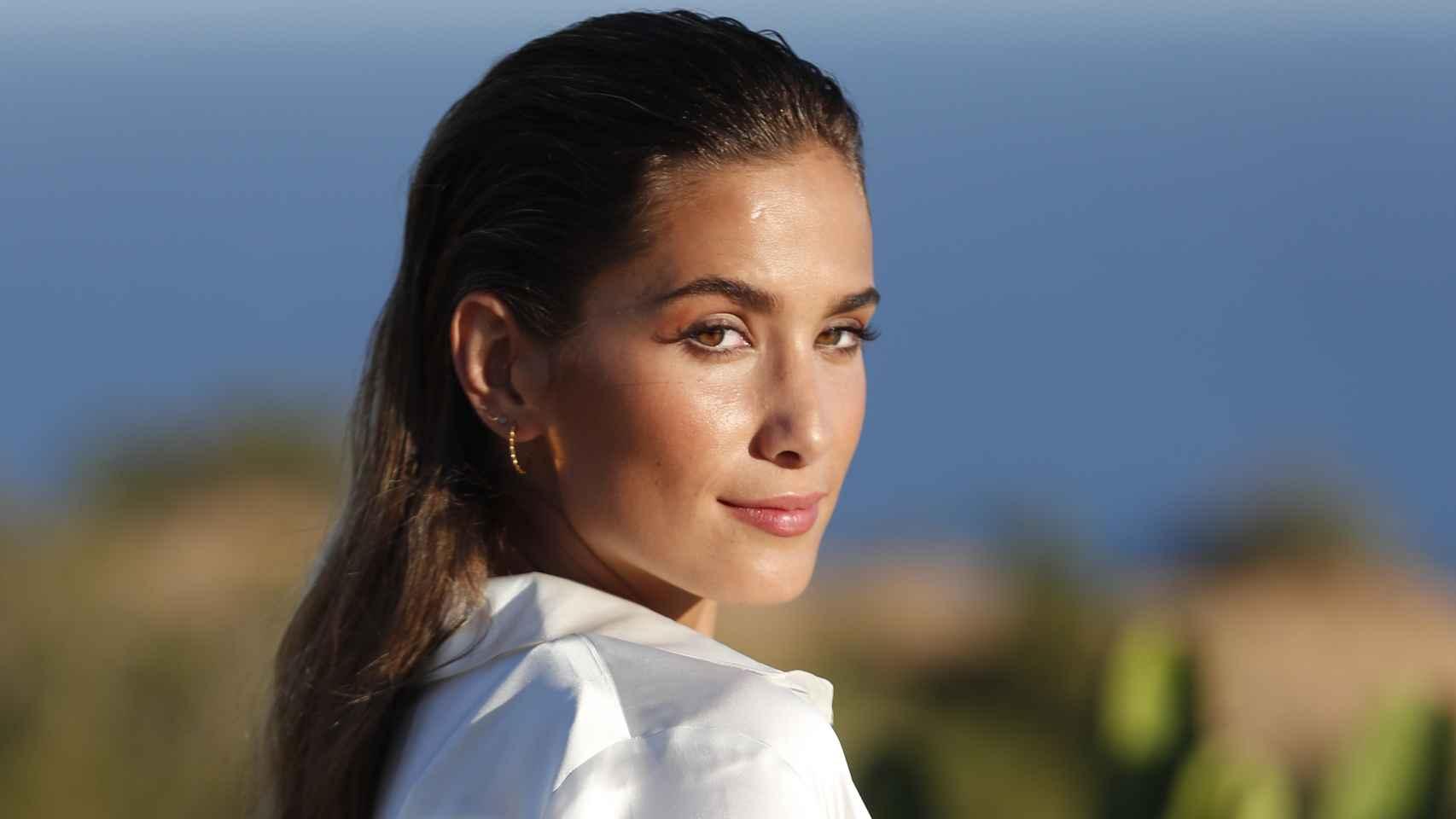 María Pombo en una imagen de archivo en Ibiza durante un evento promocional.
