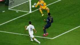 Di María supera a Courtois y marca el primer gol del PSG