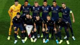 Los once titulares del Real Madrid ante el PSG en el estreno de la Champions 2019/20